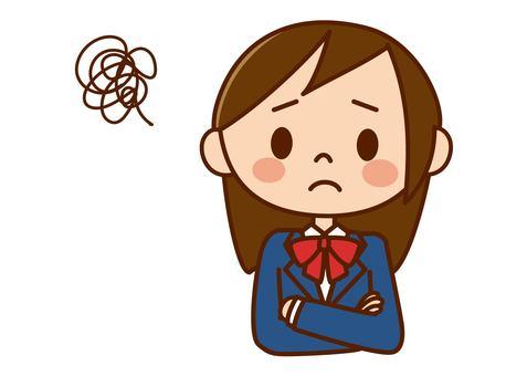 School girls - troubled