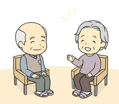 Elderly chat