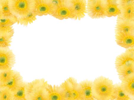 Yellow Gerbera Frame