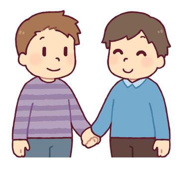 同性カップル(男性)