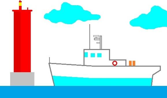Lighthouse patrol boat