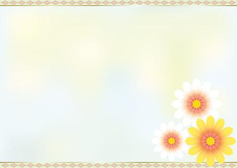 Flower pattern Chrysanthemum flower 3