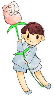 꽃을 가진 소년 5