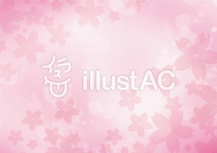 桜舞うのイラスト