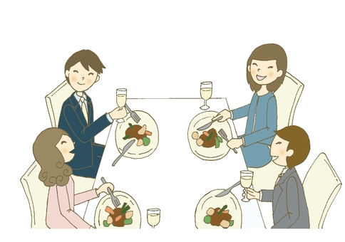 Dinner party 7 (Suit)