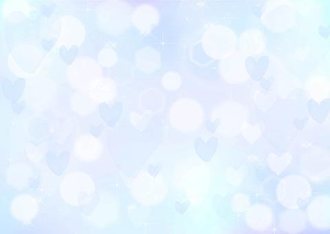 Fantastic heart background 02