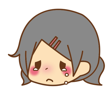 Face * Crying girl 02