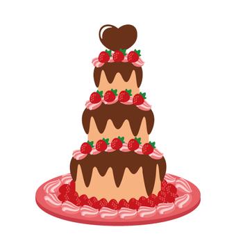 Tower cake