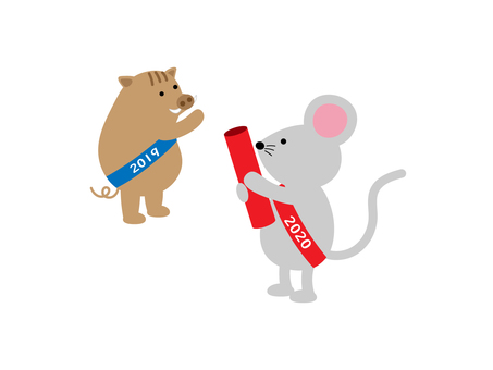 Baton touch to mouse ♪