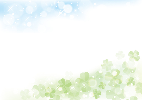 Four leaf clover background material 10