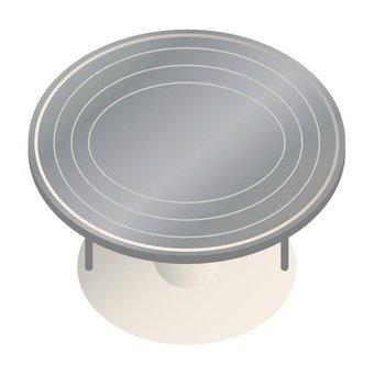 Stainless steel turn table
