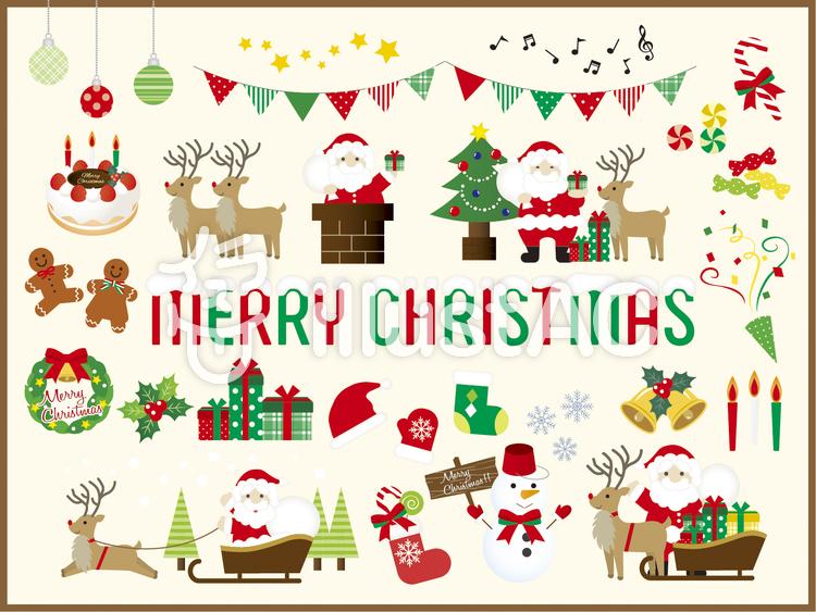 クリスマス32のイラスト