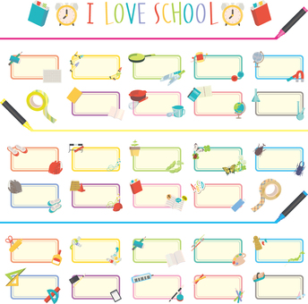School favorite assortment set 02
