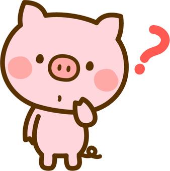 의문이 돼지
