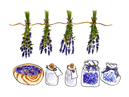 Lavender Potpourri Set