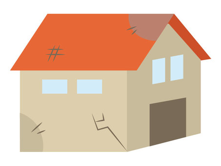 Old house 【Orange】