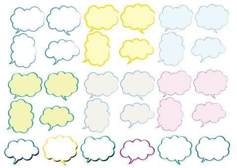 氣泡設置顏色