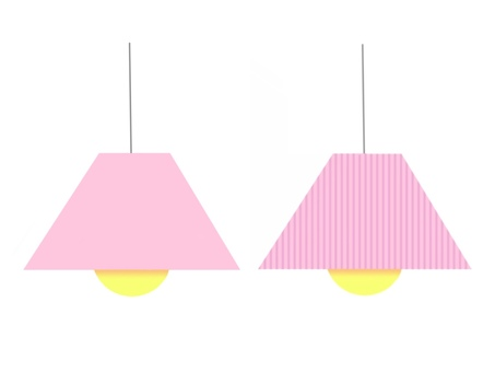Pendant light Pink