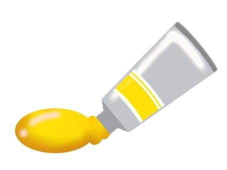 Yellow paint ②