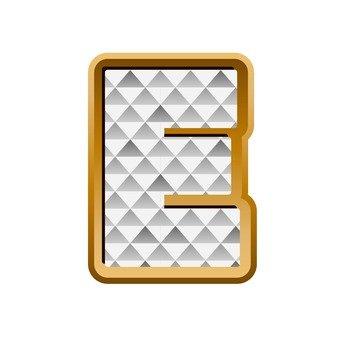 E (upper case)
