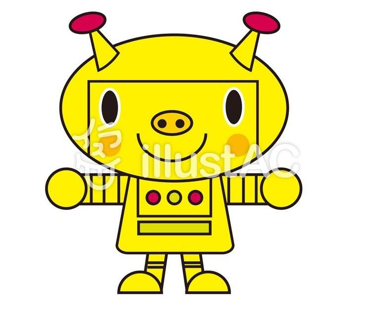 ロボットイラスト No 1156233無料イラストならイラストac