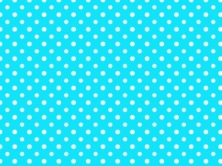 White dot pattern on light blue background