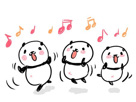 춤추는 팬더