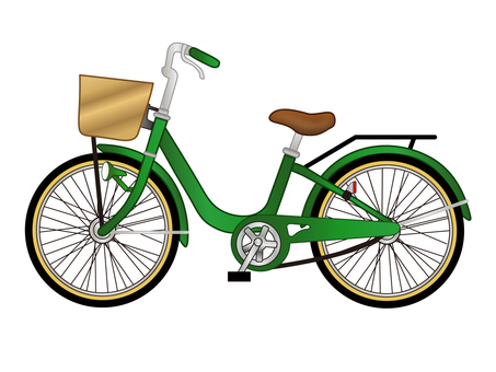 Bicycle _ green