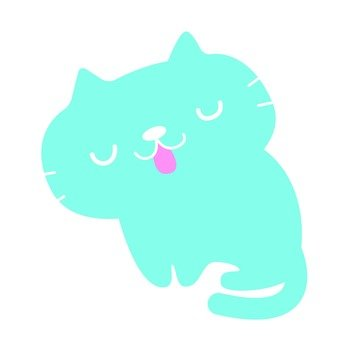 Light blue cat
