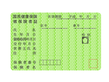 National Health Insurance Card 1
