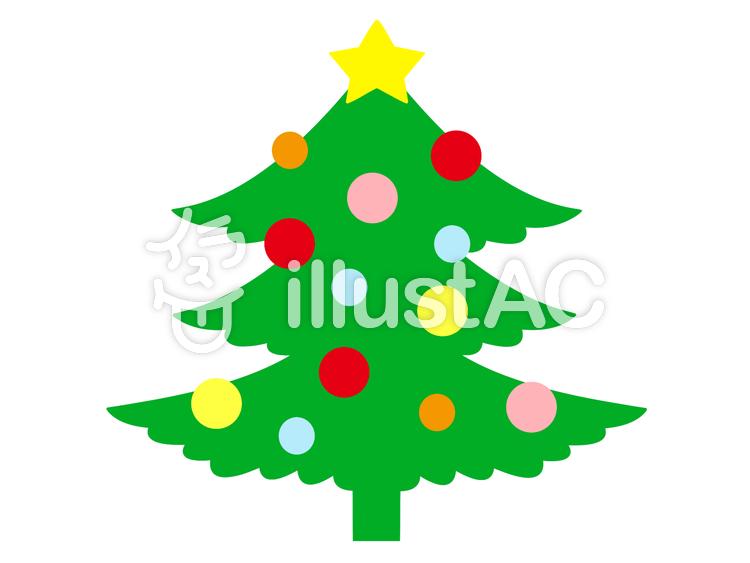 クリスマスツリー_04のイラスト