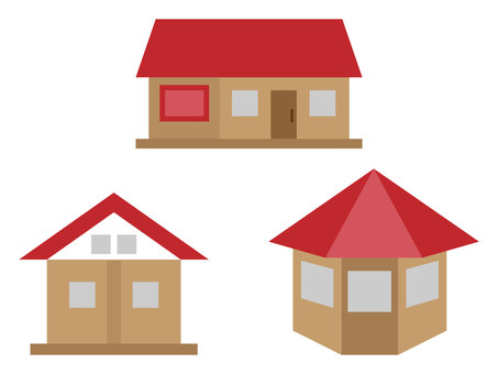 House set (red)