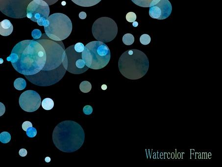 Watercolor frame ver11