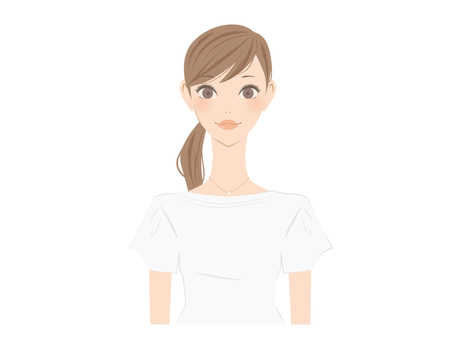 Female upper body icon 1