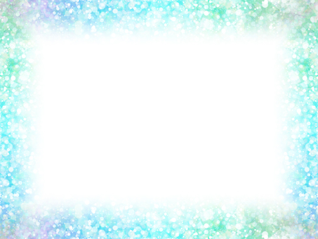 Dot frame 11 (blue green)