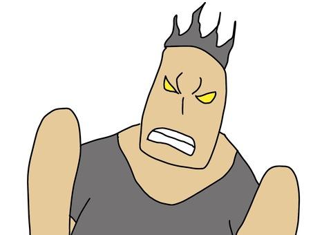 怒る 男性