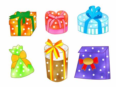 Present polka dots