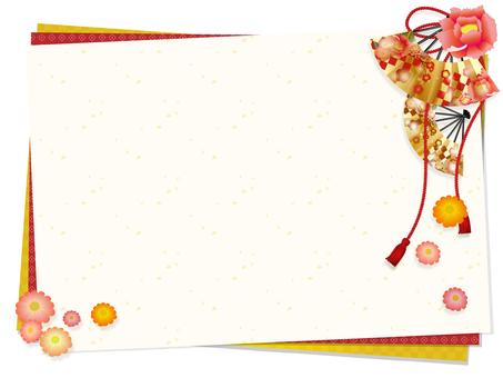 Japon tarzı dekoratif çerçeve 2