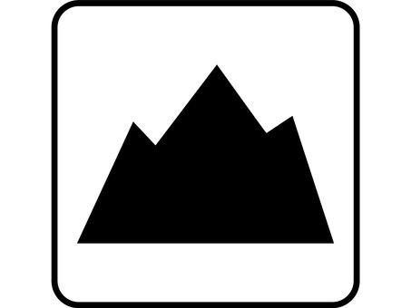Design drawing mountain