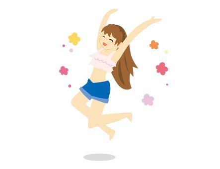 Girls to jump (fair ver ver)