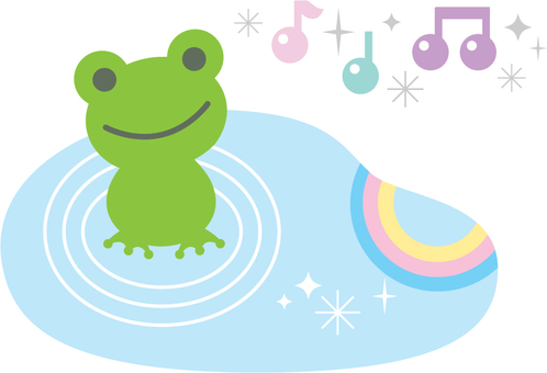 Frogs and rainbows