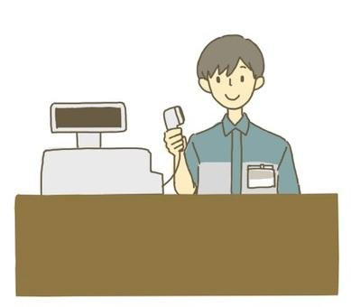 Convenience store clerk