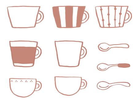 Mug Cup & Spoon 1
