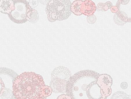 日本圖案卡(粉紅色)