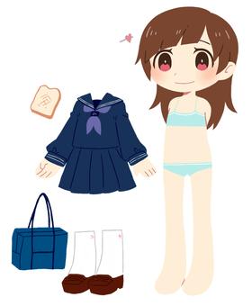 Dress up illustration ②