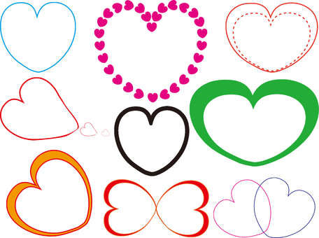 Heart illustration (balloon)