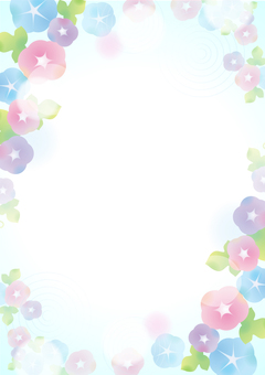 Pastel color asagao background 2