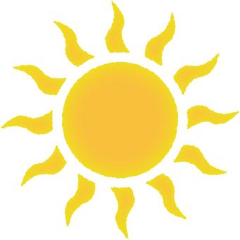 태양의 일러스트