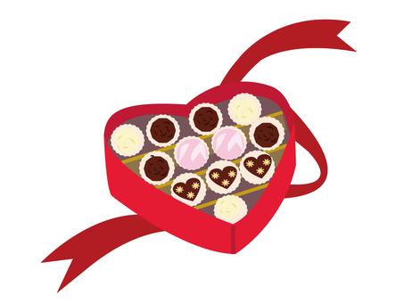 Valentine gift chocolate