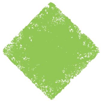 Stamp angle _ yellow green _ cs